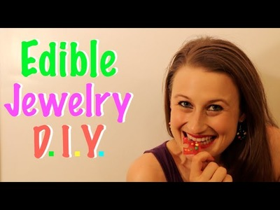How To Make Edible Jewelry