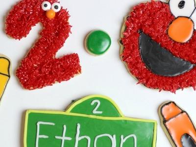 How to make Elmo Cookies