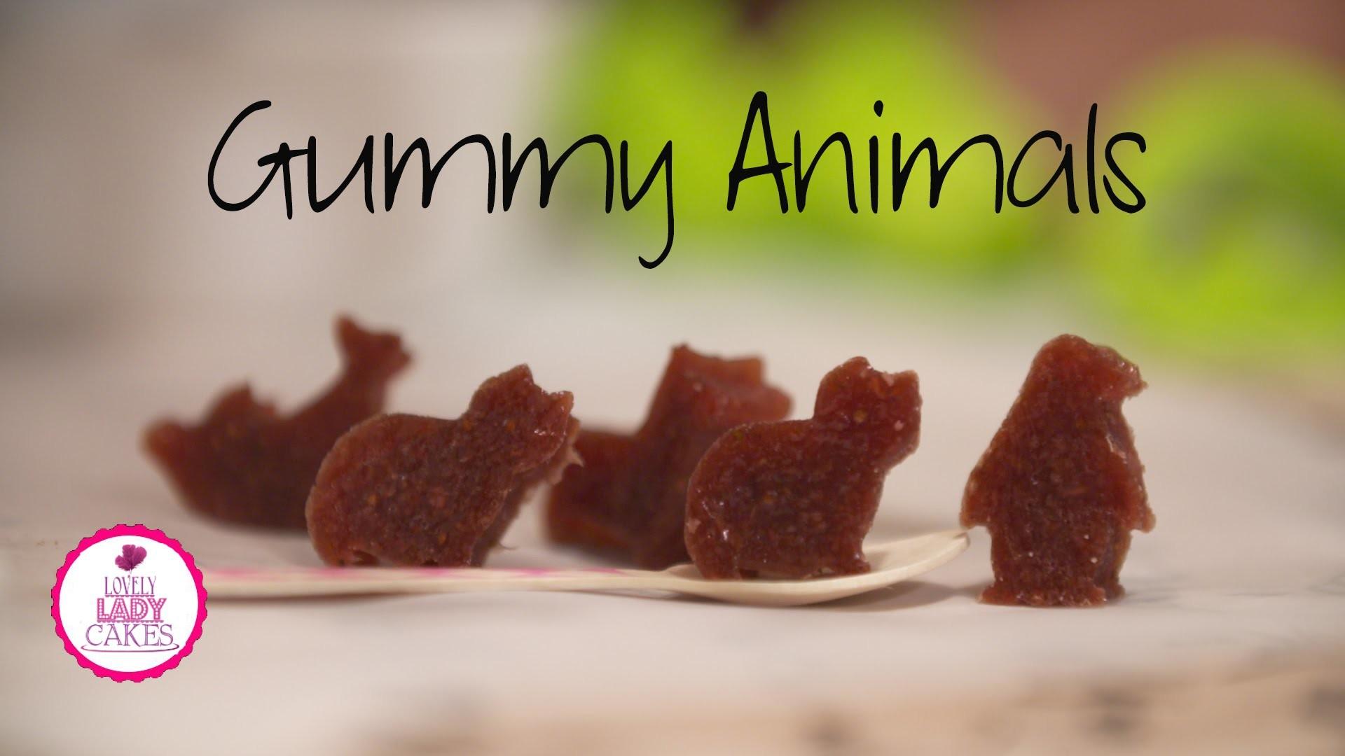 How to make Gummy Animals