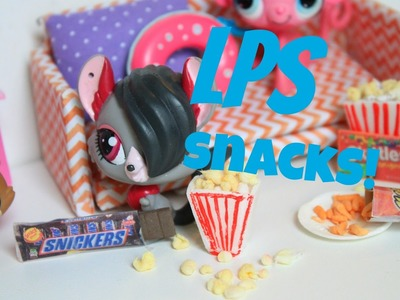 How to make LPS snacks |Miniature food