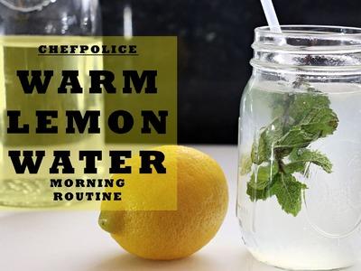 How to make Lukewarm Lemon Water for Health Benefits