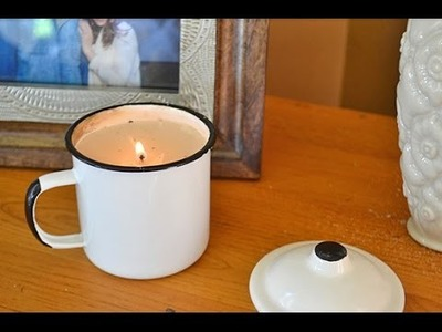 How to Make New Candles from Your Old Candles Tutorial