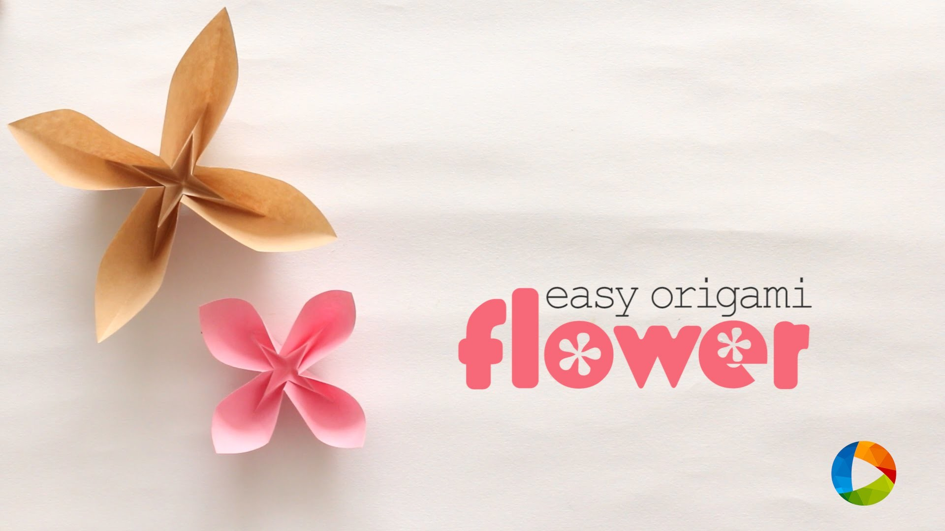 How to make : Origami Flower