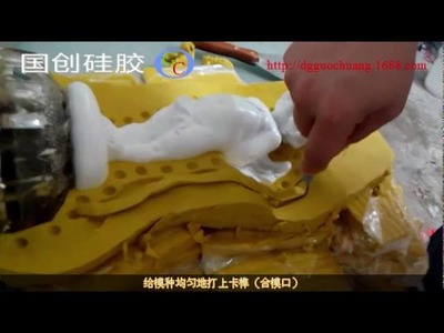 How to make silicone molds for art crafts with liquid silicone rubber