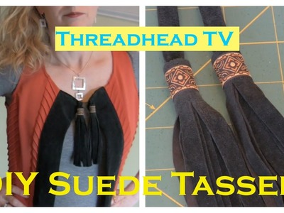 How to Make Suede or Leather TASSELS