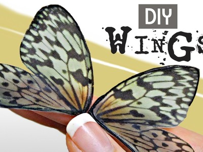 How to Make Transparent Fairy Wings- DIY