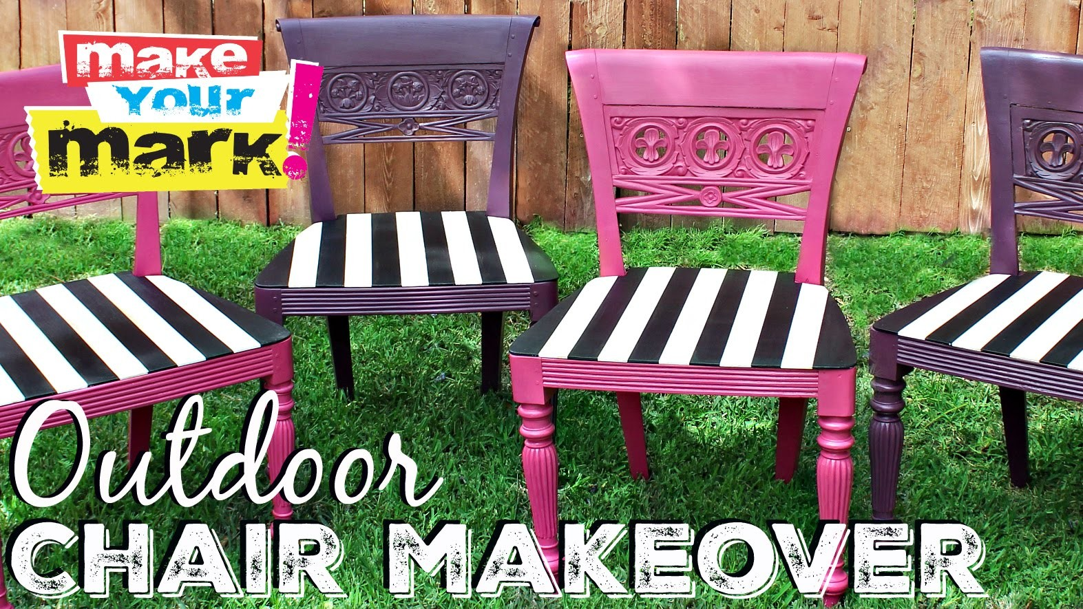 How to: Outdoor Chair Makeover