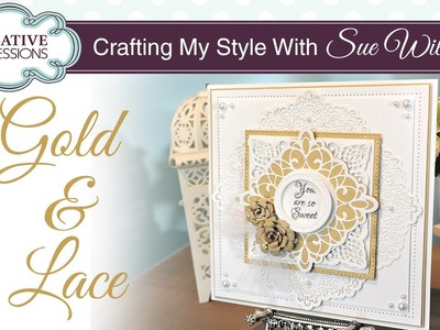 How to use the Sweetheart Flower Die Set | Crafting My Style with Sue Wilson