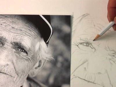 How to Use Wrinkles to Your Advantage In a Realistic Portrait!
