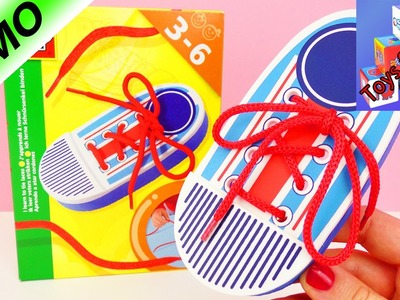 Learn how to tie your shoes! - SES Creative