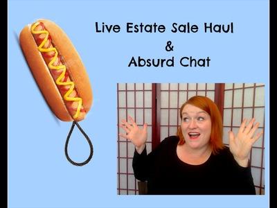 Live Garage Sale & Estate Sale Haul Video Hangout - How I Make Money Selling Online