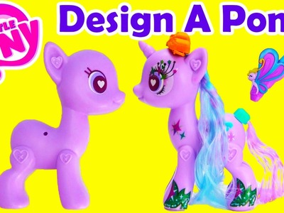 My Little Pony Starlight Glimmer Design a Pony How to Curl Your Pony's Mane
