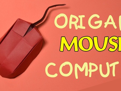 Origami easy - how to make origami mouse computer