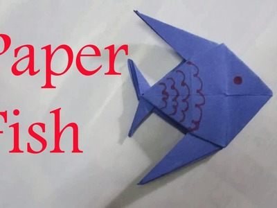 Origami Fish - Origami Fish Step By Step Instructions