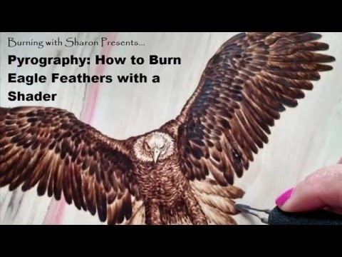 Pyrography: How to Burn Eagle Feathers with a Shader