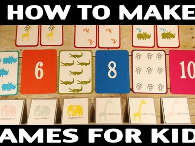 Stamping Jill - How to Make Flash Cards & Memory Game