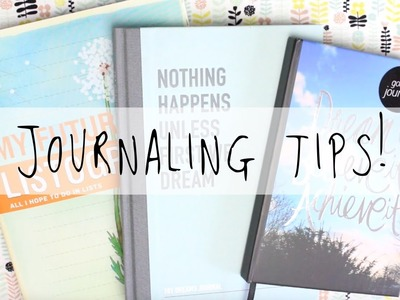 Tips On How To Start Journaling - Your Future | MyGreenCow