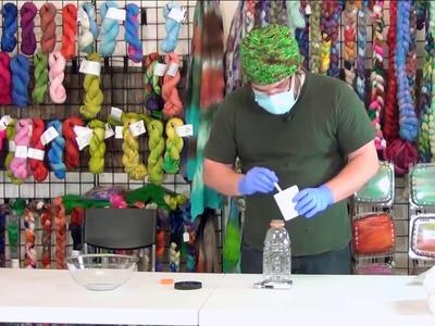 Top Tips - How to Dye Yarn and Fibers