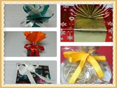 5 DIY Creative Gift Wrapping Ideas for Raksha Bandhan.How to Pack Gifts Easy Way.Rakhi Special.