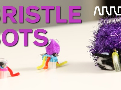 Arrow at Maker Faire 2016 - How to Make Bristle Bots