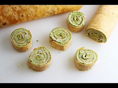 Chilled Pinwheel  Sandwiches   INDIAN RECIPES   WORLD'S FAVORITE RECIPES   HOW TO MAKE