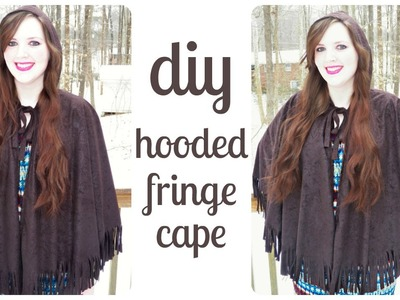 [DIY] How to Sew a Cape with Hood & Fringe - Cosplay or Fashion