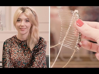 Hair at Home: how to wear hair accessories