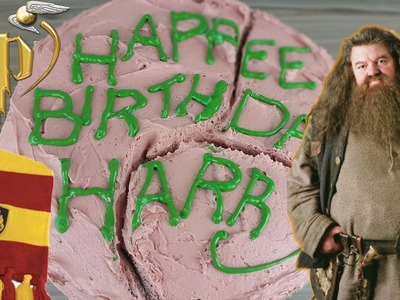 Harry Potter's Birthday Cake From Hagrid | How To Video | CarlyToffle
