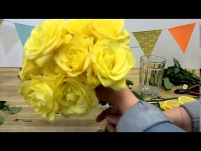 How To Create A Zesty Lemon Centerpiece