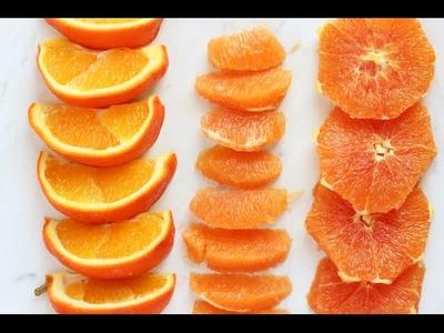 How to Cut an Orange
