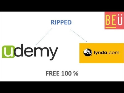 How to download UDEMY and LYNDA courses 1000% free
