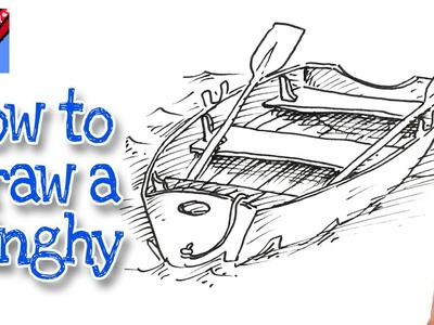 How to draw a Dinghy Real Easy