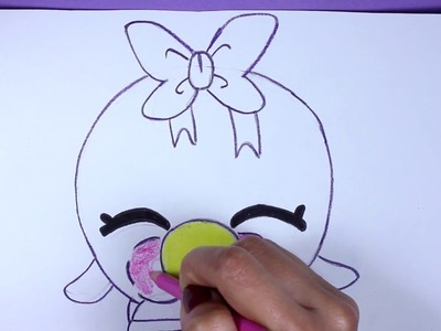 How To Draw Shopkins: Bubbles - Learn How To Draw Season 1 Shopkins, Drawing Shopkins Season 1