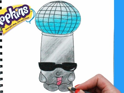 """How to Draw Shopkins Season 5 """"Mike Rophone"""" Step By Step Easy 