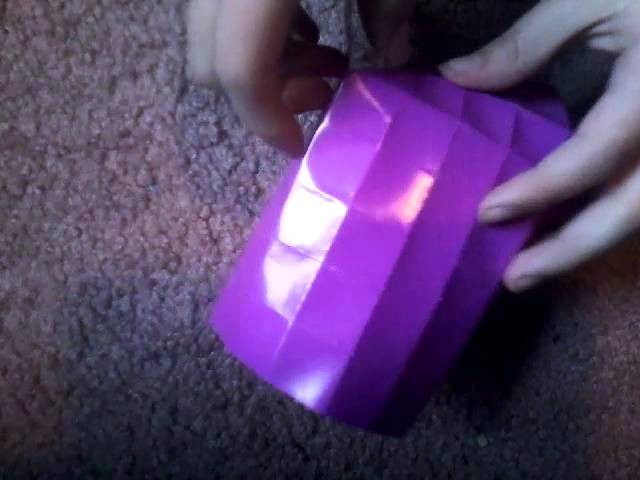 How to fold an origami twin tower easy!