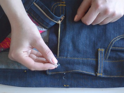 How to install jeans hardware at home (including rivets & jeans buttons!)