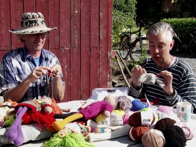 How to knit their doll - by ARNE&CARLOS