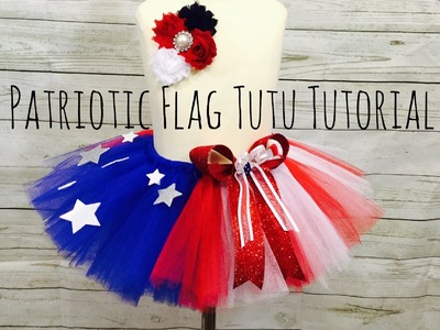 How to make a 4th of July tutu