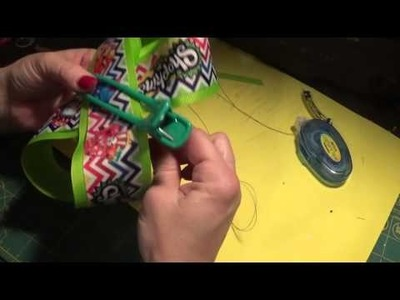 How to make a double layer boutique bow