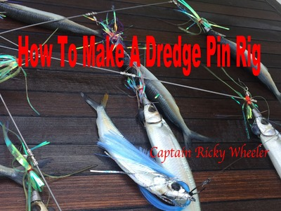 How To Make a Dredge Pin Rig (Tackle Talk with Captain Ricky Wheeler)
