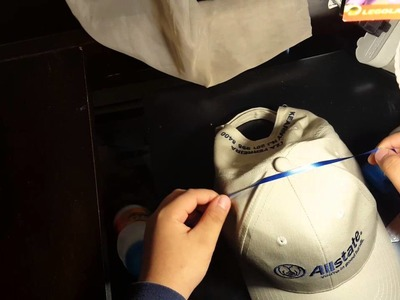 How to make a drinking hat