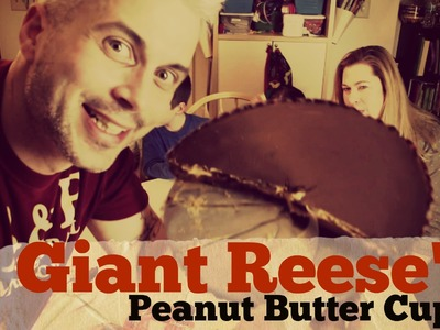 How to make a GIANT Reese's Peanut Butter Cup!