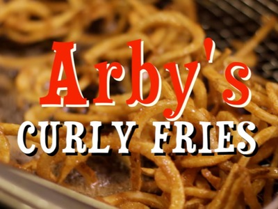 HOW TO MAKE Arby's Curly Fries SHORT  HellthyJunkFood
