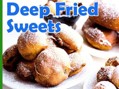 How to make batter dipped deep fried Oreos, Twinkies, Cookie Dough balls and Snickers