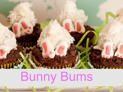 How to Make Bunny Bum Cupcakes