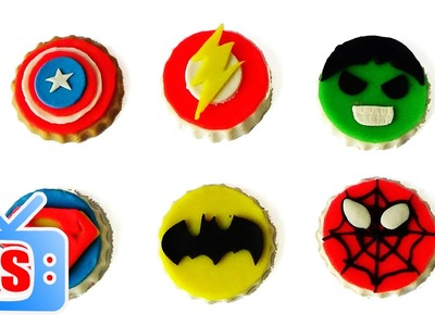 How To Make Cake With Play Doh Make Thor Captain Hulk Batman Spiderman Superman Cake