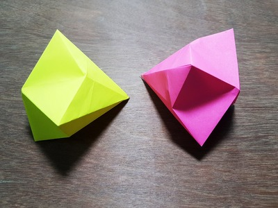 How to make Diamond Origami - Easy Way
