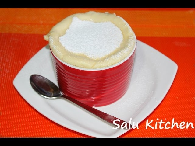How to Make Easy Souffle (with English Subtitle)
