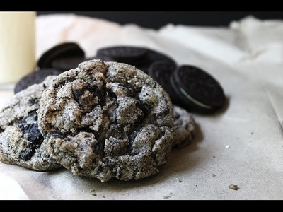 How to make Oreo chunk cookies