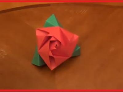 Rose Origami Flower Tutorial Origami Flower Tutorial Origami